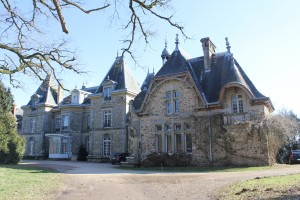 Le château de Ligoure