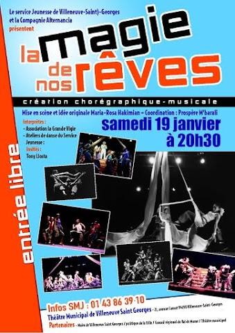 Création chorégraphique Villeneuve-Saint-Georges : La magie de nos Rêves