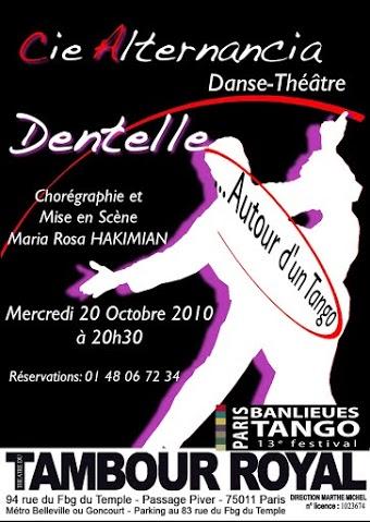 Création Danse-Théâtre : Dentelle