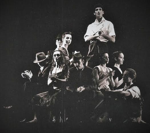 """Création spectacle de danse contemporaine : """"20 cts le tour d'un Tango"""""""