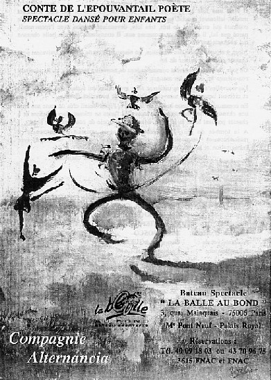 """Spectacle dansé pour enfants : """"Conte de l'épouvantail poète"""""""