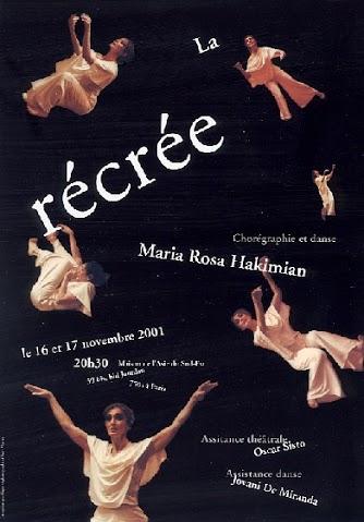 """Chorégraphie et danse : """"La recrée"""""""
