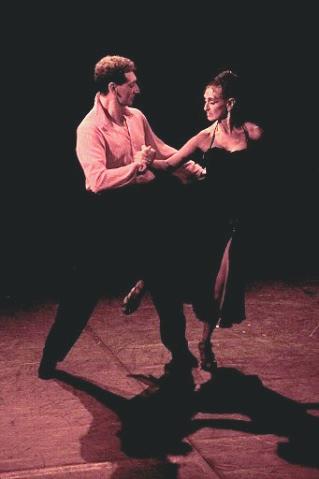 Le tango argentin sur scène
