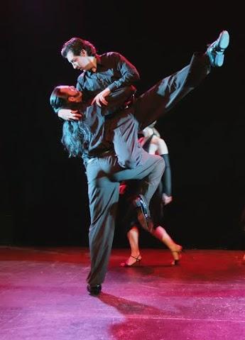 Le Tango et la rose, spectacle de danse