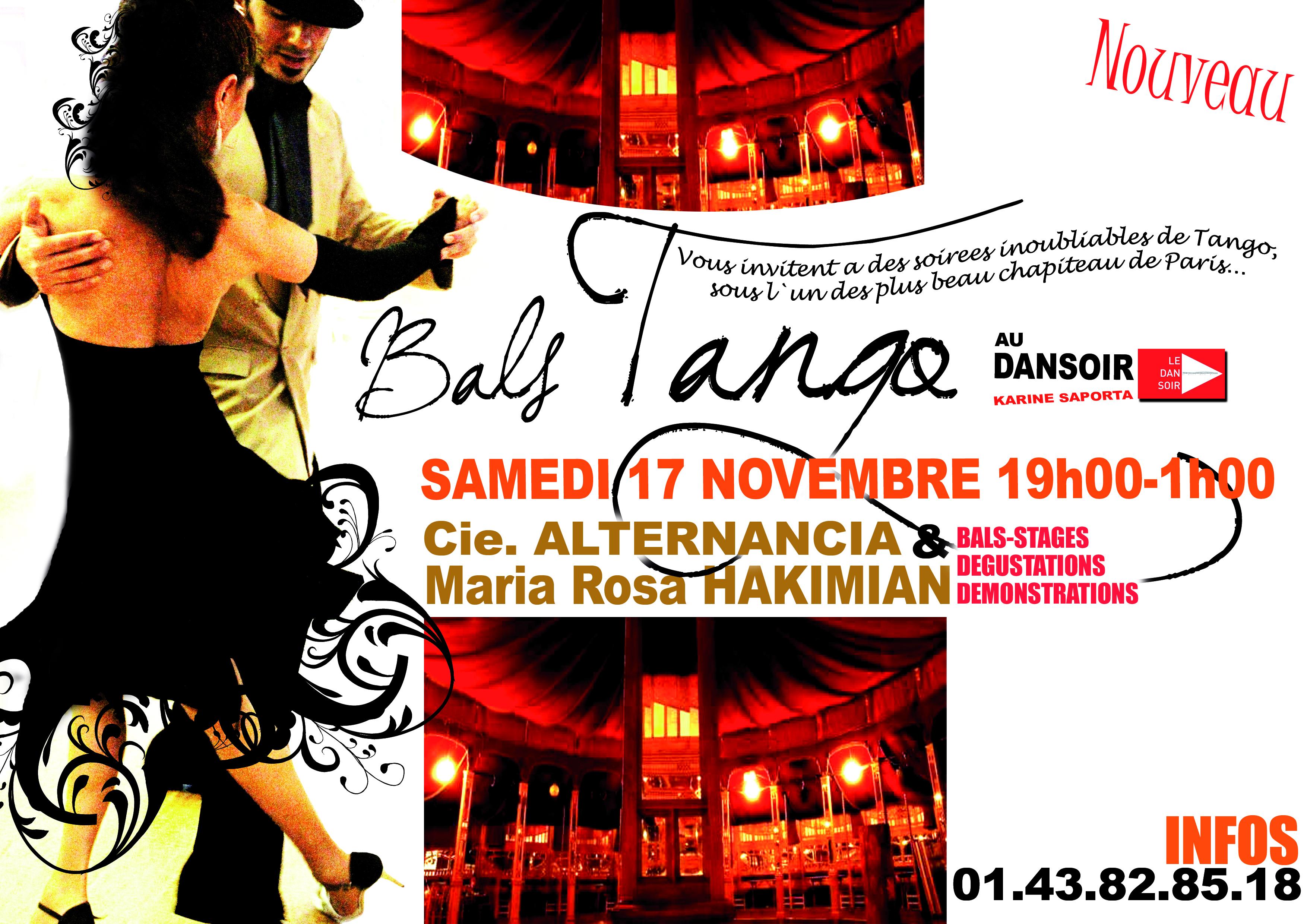 Bals Tango au Dansoir