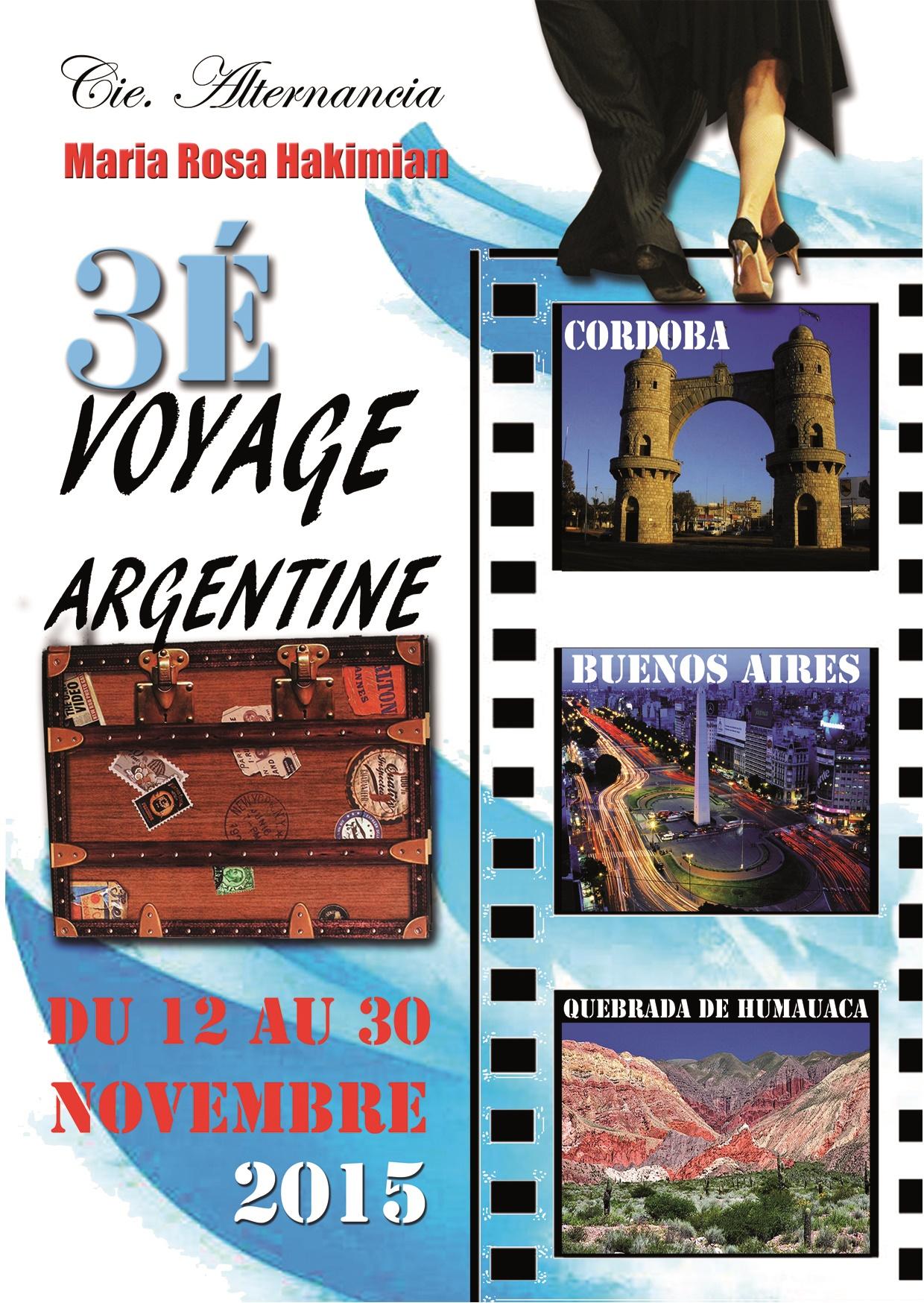 Voyage culturel et pédagogique en Argentine édition 2015