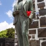 Statue de Carlos Gardel